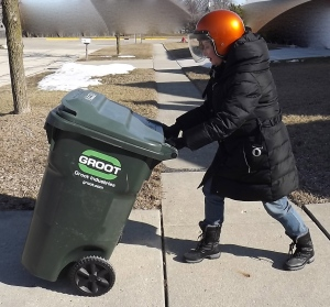 Practice safe recycling