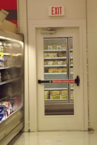 The liquor door is armed.