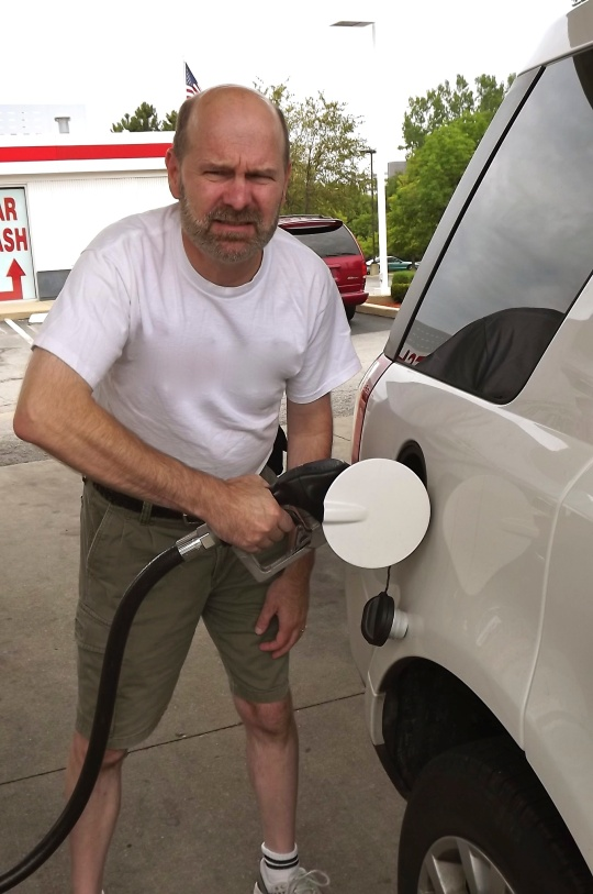 Mad at gas car