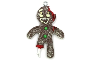 Zombie Gingerbread Man - not very appetizing