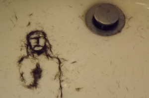 Jesus appeared in my sink