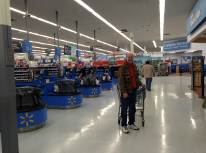 It was like Walmart opened just for us