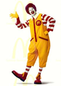 Ronald's Old Look