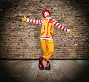 Ronald's New Look