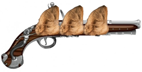 Three Musket Ears