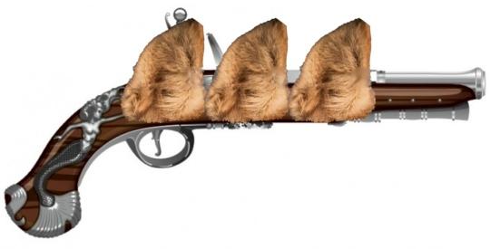 Three Musket Ears