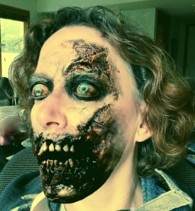 Happy Halloween from my zombie self