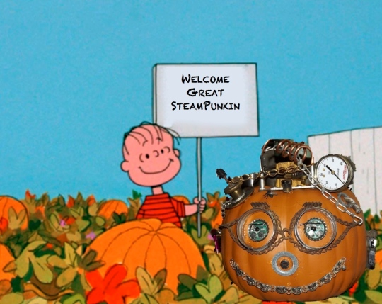 It's The Great Steampunkin, Charlie Brown