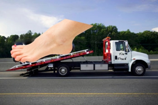 Toe Truck - Caring for toes and feet for more than 3 generations