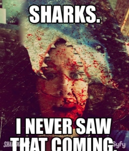 This is how I imagine my own sharknado