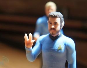 3D Star Trek Figures (From incrediblethings.com)