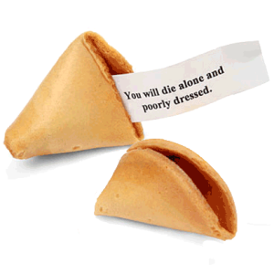 Misfortune Cookies (From tealco.net)