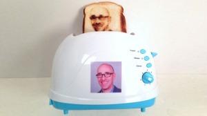 Selfie Toaster (From incrediblethings.com)