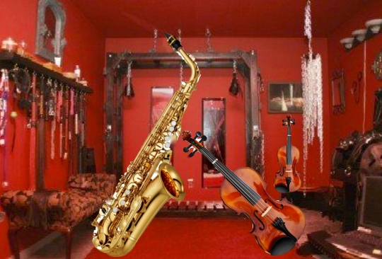 Sax and violins... What's the big deal?