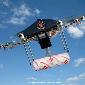 Jimmy John's announces super fast delivery via drone