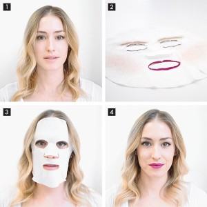 Sheet Hack makeup by Sephora makes getting ready in the morning a breeze