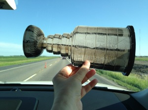 Driving in North Dakota - a whole lot of nothing