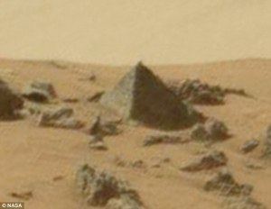 Pyramid on Mars