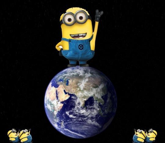 Da Minion over Earth