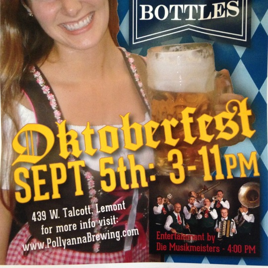 Wouldn't it be cool if one year Oktoberfest happened in October?!?