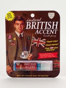 british accent spray