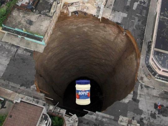 Sink Hole da Mayo