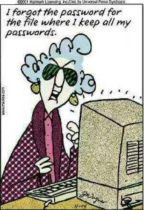 Maxine Passwords