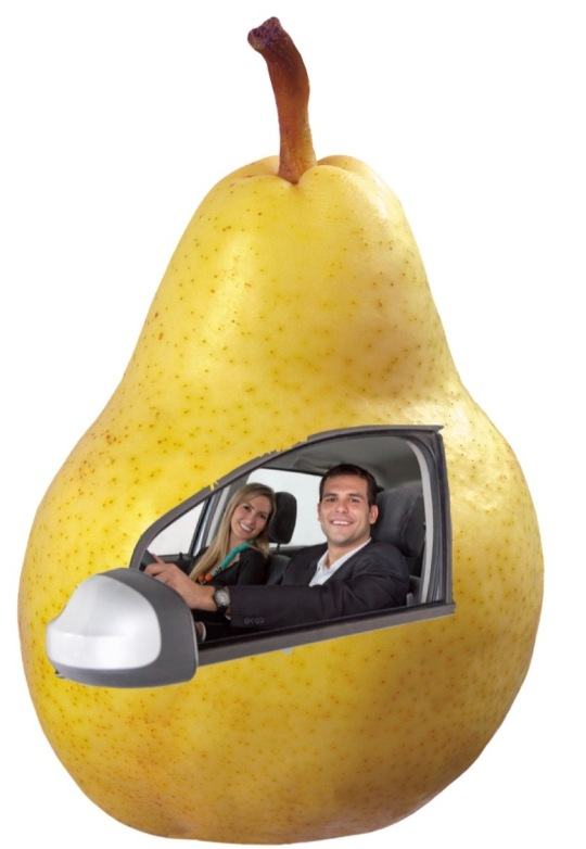 For added safety, travel in pears