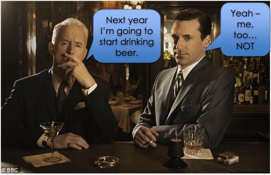 New Beer's Resolution